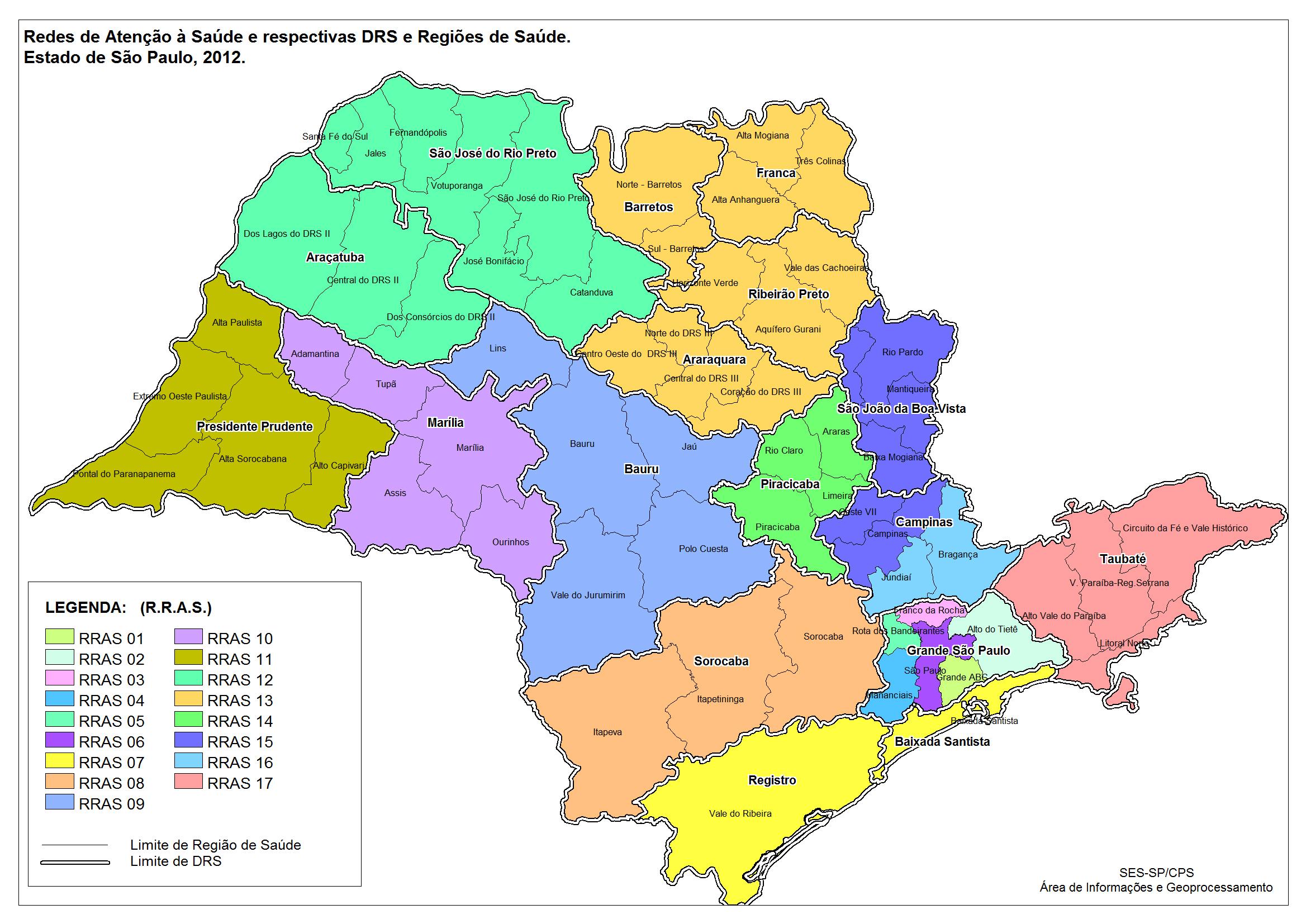 mapa são paulo Mapa de Saúde   2012   Secretaria da Saúde   Governo do Estado de  mapa são paulo